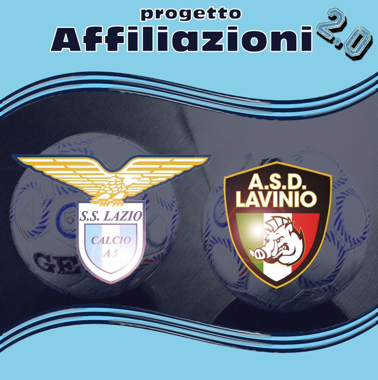Il Lavinio entra nella famiglia delle affiliate S.S. Lazio Calcio a 5